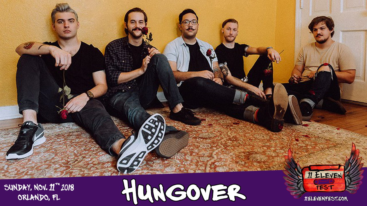11Eleven FEST 2018 Lineup - HUNGOVER