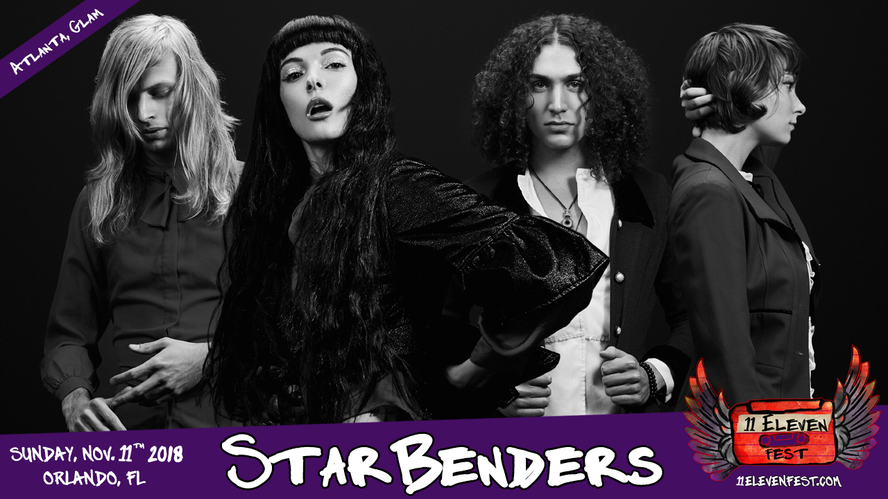 11Eleven FEST 2018 - STARBENDERS Announce